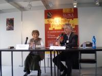 Markéta with David Vaughan, The Jiří Theiner Prize, Book Fair, Prague 2016