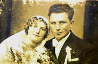 Emma Hrnčířová, grandmother from the mother´s side