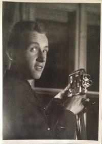 M. Brocko - shooting film Romantika,  1963