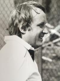 M. Brocko, tennis cup of Slovkoncert, 1987