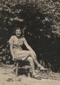 In Polná, 1944