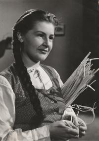 In the film Bells of Reed, 1949