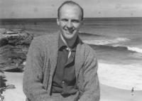 Jan Lorenz in 1955, Sydney, Australia