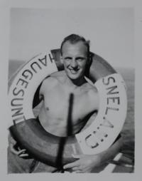 Jan Lorenz - going to Australia 1950
