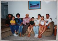 American family of Jan Lorenz -  San Francisco 2000(?)
