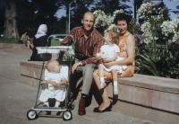 Family of Jan Lorenz - 1962