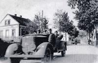 German army arriving to Bolatice / 1938