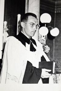 As a young pastor