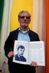 A Presentation of a Book Containing an Interview with František Bloudek (Prague Pride, 2014)