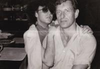 František Bloudek and Jiří Králík (ca. 1980)