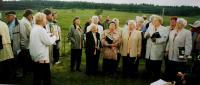 Heimatchor in Jelení (Kraslicko), Anita in a bottom row second left in 2004