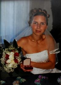 Marriage photo of a dauther Alexandra, unlocated, around 2005