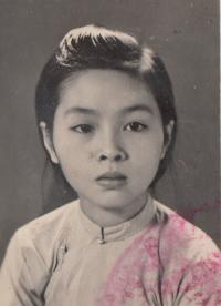 Nhung as a child