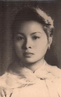 Nhung at the age of 17