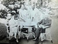 Robert s rodinou
