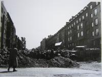 Barricade on the street Terronska