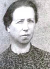 Petra Eisenberg's mother Klára Eisenbergová, 1939