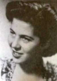 Petr' Erben's wife Eva, 1948