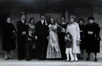 Věra's relatives in Vienna, ca. 1970