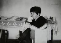The witness on a trip with Irena Gerová in the Tatras back in 1970