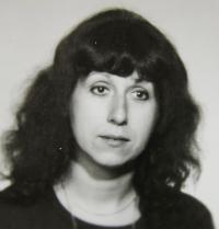Portrait photo of the witness; Prague around 1980