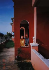 Witness with Jan Frolík in Corfu in 1998
