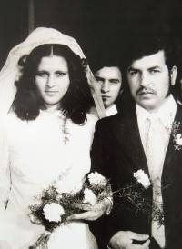Štefan Tišer at his brother's wedding