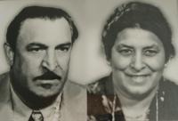 Portrait of Štefan Tišer´s parents