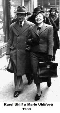 Parents in 1938