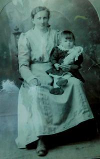 Mother Joseph Markova is son Miroslav.