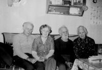 Radoslava Brovjáková s manželem a rodiči