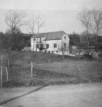 Žílkuv mlýn u Velké nad Veličkou, kde za války bydlela rodina Knápkova