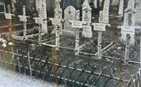 Burial of the German pilots in October 1939