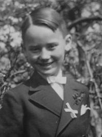 Gustav as a child