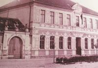 1945 - elementary school in Rohatec, Zdeněk's father becomes its principal
