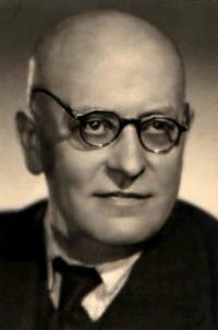 Father Antonín Fuksa, Benešov 1940