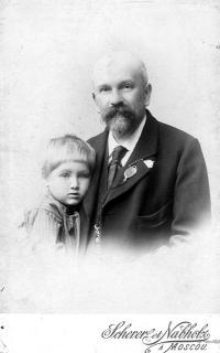 Alexej Orešnikov, grandgrand father od Natalie and her uncle, that was killed by soviet comunists in age of 22