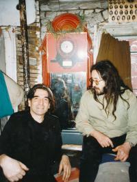 Karel Havelka and John Peel, New York, 1990ies