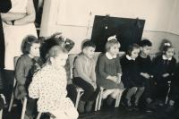 Kindergarten, KH boy in the middle