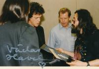 Lou Reed, Václav Havel, Karel Havelka