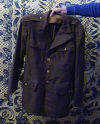 František Beneš's uniform