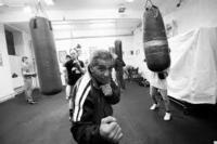Ve svém boxerském klubu