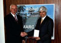 2006 - The Heveshy Medal Award, with proffessor Chatt