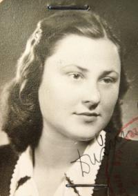 Marta Charvátová after WWII