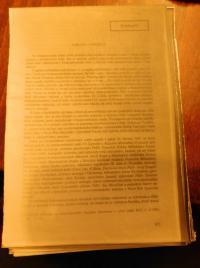 A samizdat sample that Vlastimil Bartos copied onto a photo paper