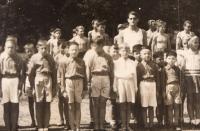 Vedoucí Sokola Černošice, 1946-7