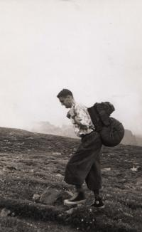 Zdeněk F. Daneš, Rocky Mountains, cca. 1956