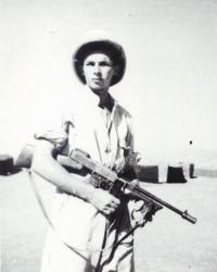 Pavel Vransky, Middle East, WW II