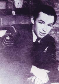 Pavel Vranský v uniformě