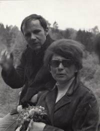 Václav Mezřický with his wife Něhoslava